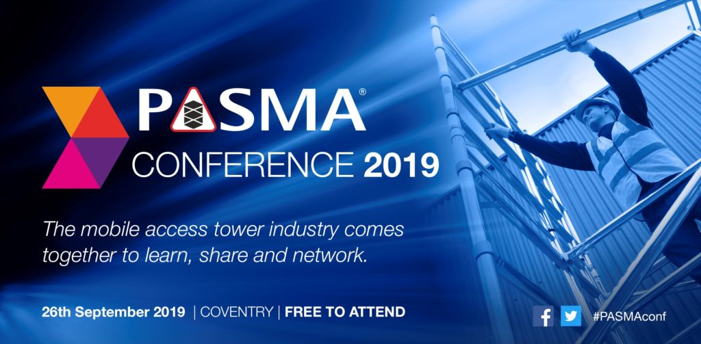 PASMA conference 2019, 26th September 2019