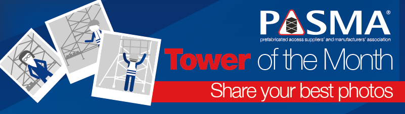 PASMA Tower of the Month photo competition