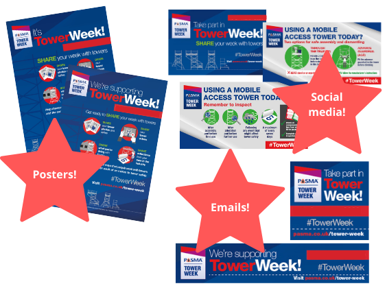 PASMA Tower Week Supporter Pack