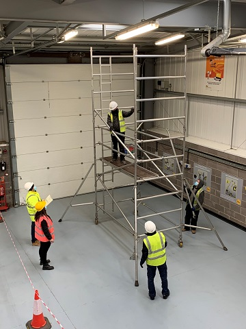 A Towers for Users course taking place at the new Warren Access facility in Newcastle