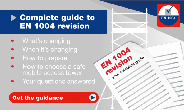Complete guide to EN 1004 revision 2020